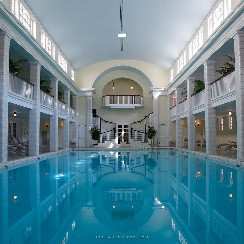 Springs eternal 16 52 the bedford springs luxurious - Indoor swimming pool temperature regulations ...
