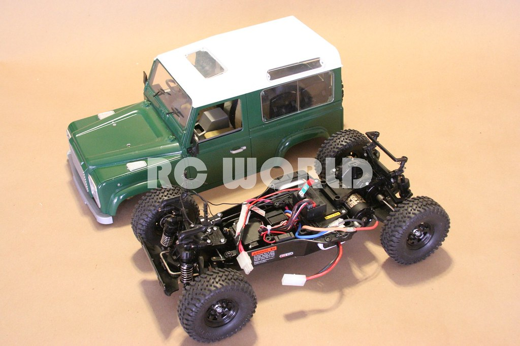 Tamiya Rc Land Rover Defender 90 Rc World Flickr