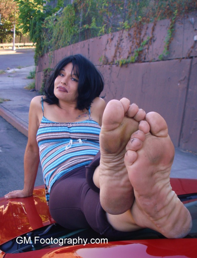 Candid bbw dirty soles part 2 5