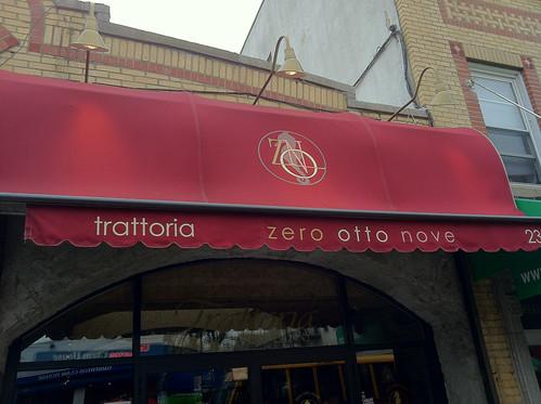 Zero Otto Nove Restaurant Week