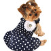 Navy Dog Sundress by LuLu Pink