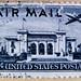 great stamps USA airmail 10c u.s. postage Martin 2-0-2 Pan American Building par avion stamps United States poste-timbres sellos USA selos Briefmarken porto franco francobolli USA postzegel Stamp USA United States of America timbre États-Unis u.s. postage