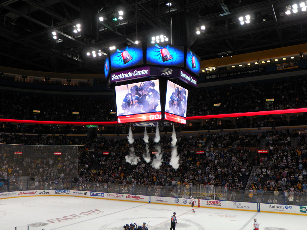 Scottrade Center, section: 302, row: A, seat: 11