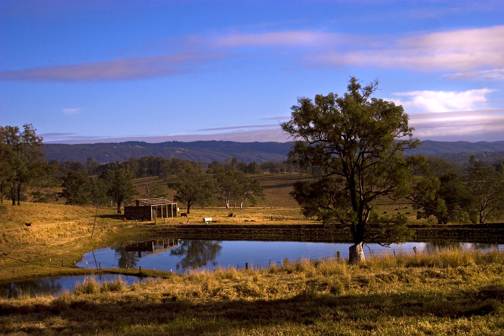 Rural australia classic aussie rural landscape it may for Rural garden designs australia