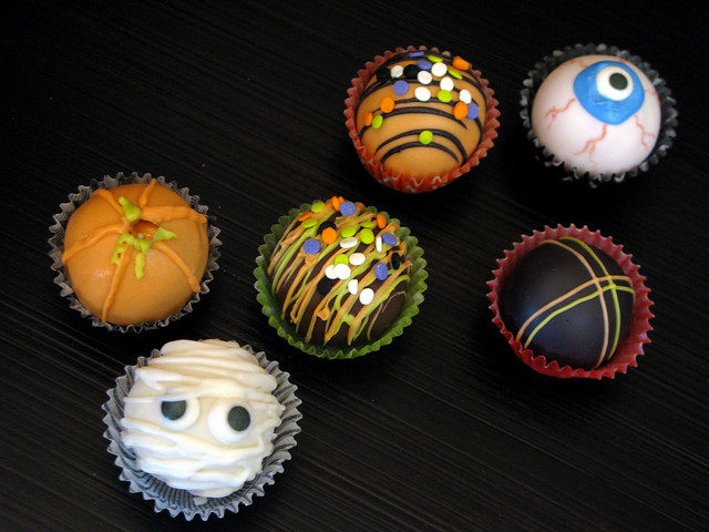 Halloween Cake Balls | Flickr - Photo Sharing!