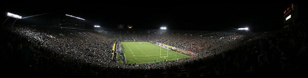 Image result for notre dame stadium night