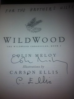 Signed edition of Wildwood | by benjaminhilts