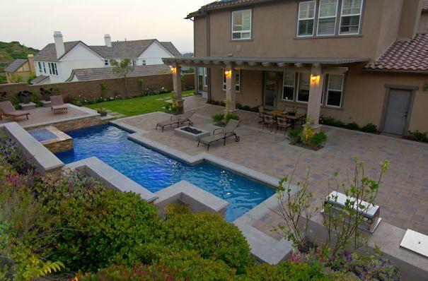 Elegant backyard landscaping by v3 studio berzunza flickr for Elegant landscaping