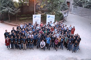 Group shot in FUDCon Pune 2011 | by Kushal Das