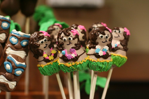 Hula Girl Cake Pops | by Sweet Lauren Cakes