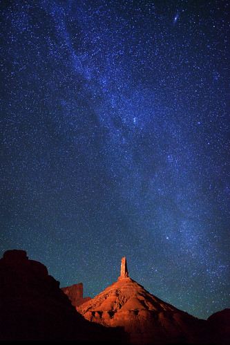 "Stars over Castle Rock | by IronRodArt - Royce Bair (""Star Shooter"")"