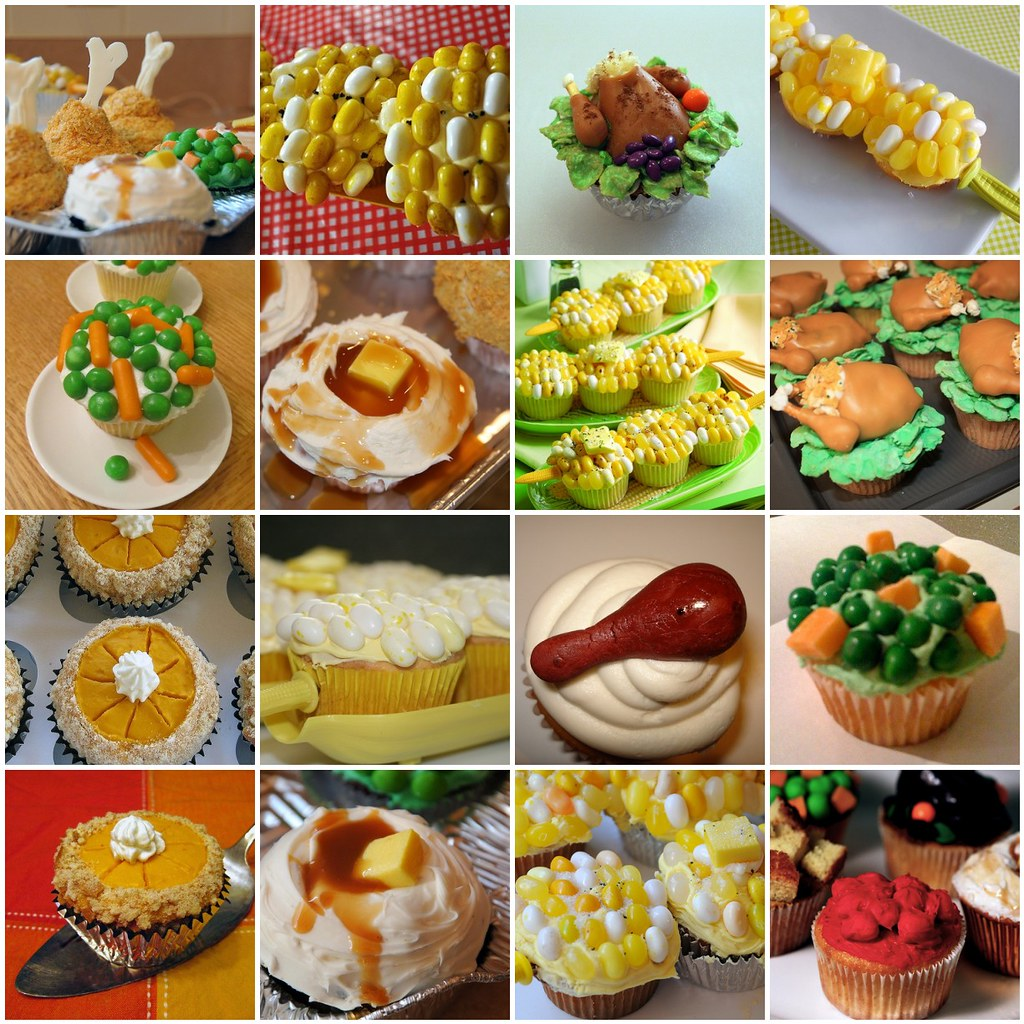 recipe: thanksgiving dinner cupcakes [16]