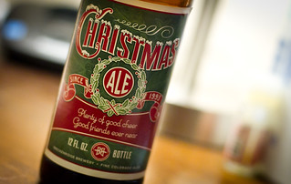 Tis the Season! LOVE the label design! And tastes pretty good too! | by dhgatsby