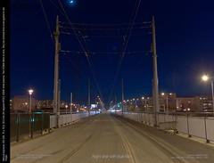 Night shot with blue filter by Patrick Jakubowski