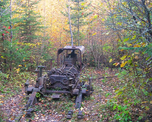 Remains Of The Lombard Log Hauler Cunliffe Depot Flickr
