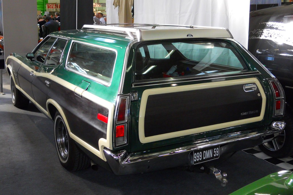 ford gran torino 1972 station wagon salon automedon 2011 flickr. Black Bedroom Furniture Sets. Home Design Ideas