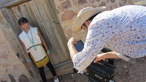 Jaime Lynn Butler filming with Sean Solowiej and iMatter | by OurChildrensTrust