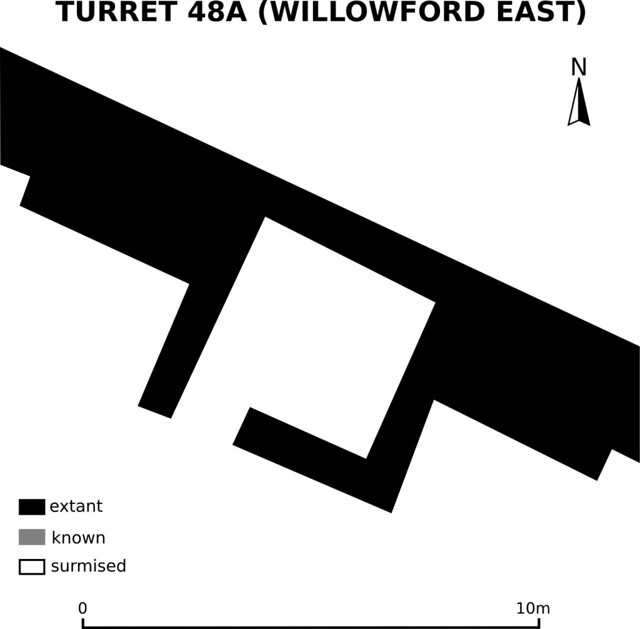 Plan of Turret 48a