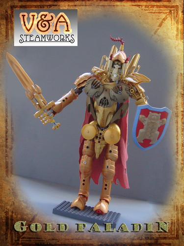 Gold Paladin by V&A Steamworks | by V&A Steamworks - Guy HImber