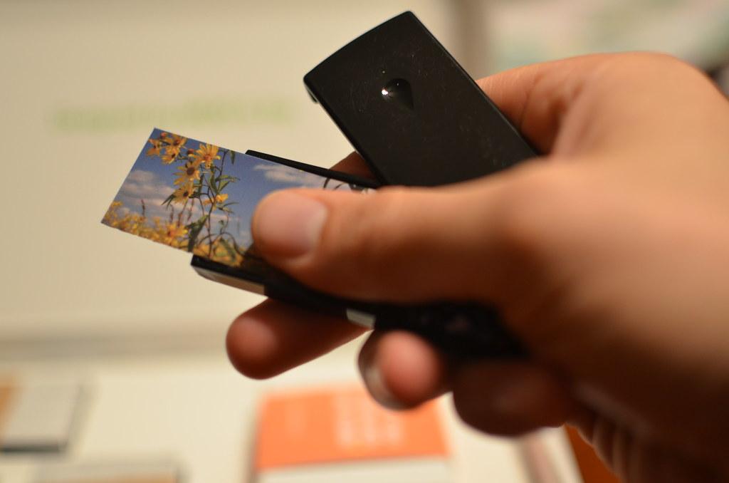 Minicard Holder | Moo Mini Business Card Holder My Referral … | Flickr
