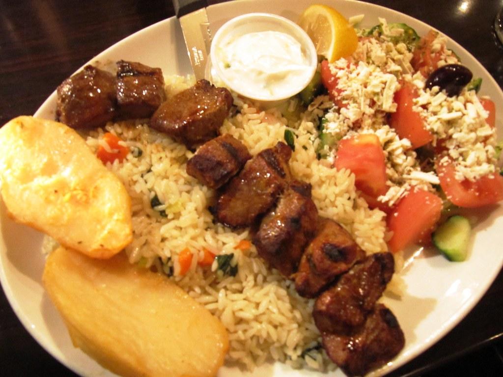 Greek Street Food Menu
