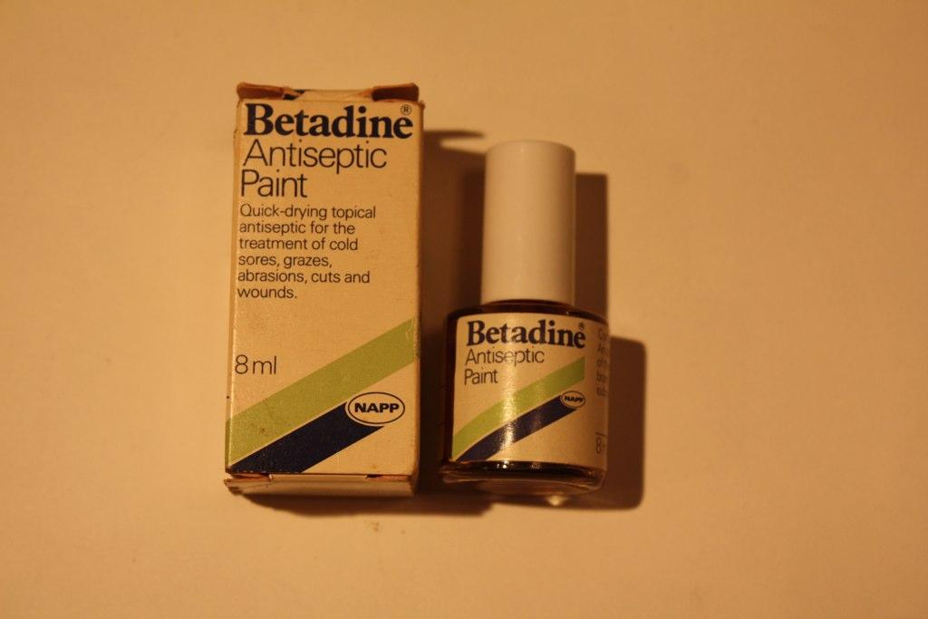 Betadine Antiseptic Paint Betadine Antiseptic Paint