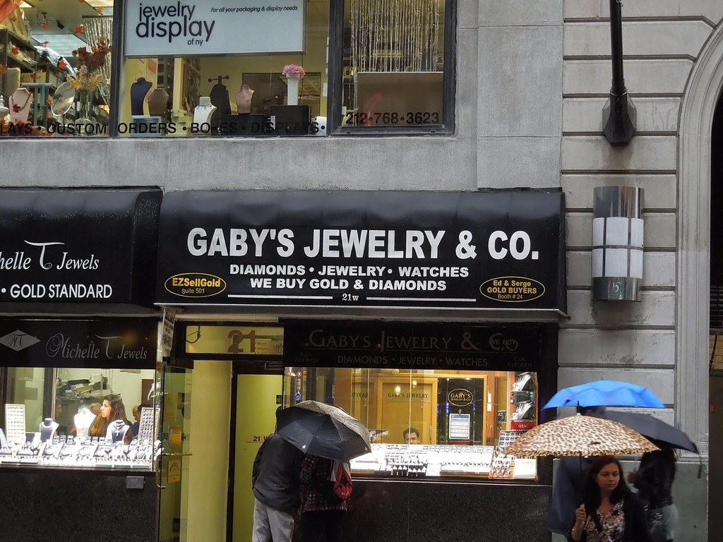 gaby 39 s jewelry co 21 west 47th street new york flickr