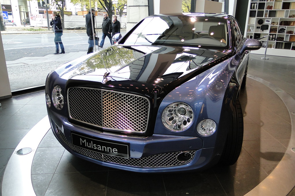 Two Tone Bentley Mulsanne Tobias Liebing Flickr