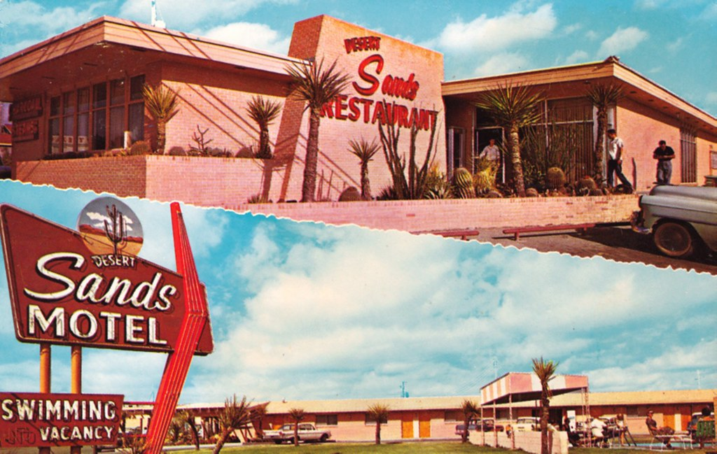 Desert Sands Motel - Big Spring, Texas