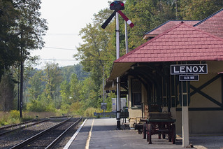 The Lenox stop on the Berkshire Scenic Railway | by DiscoverLenox