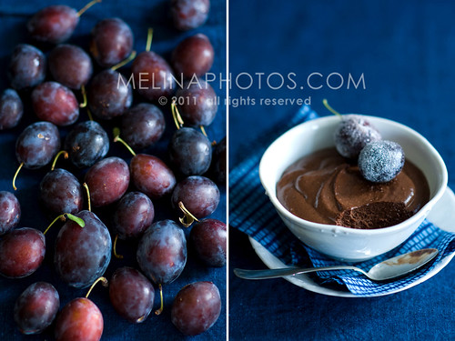 sugar plums, chocolate mousse | by mwhammer