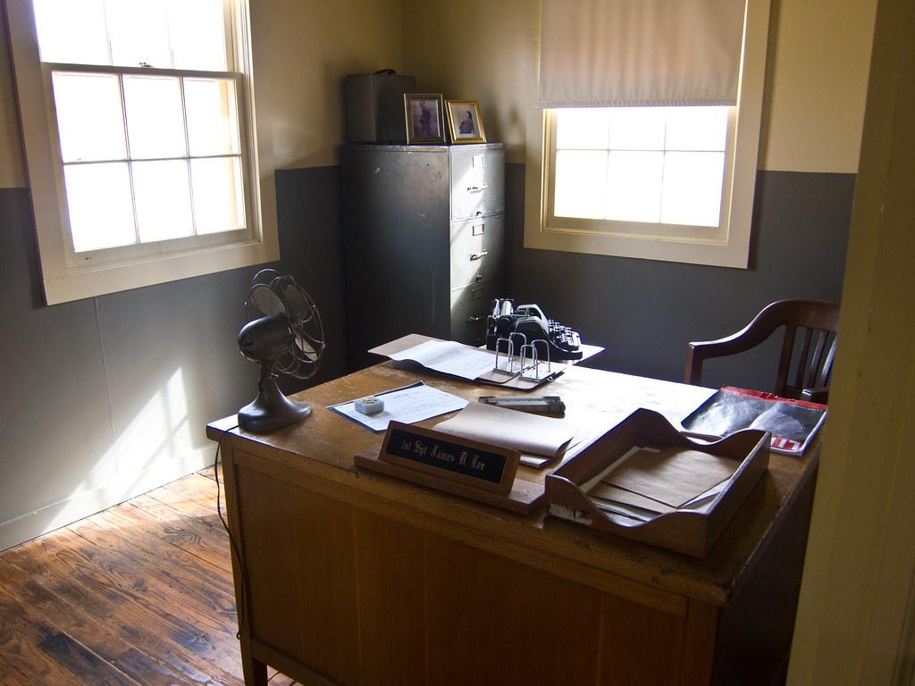 WWII era desk
