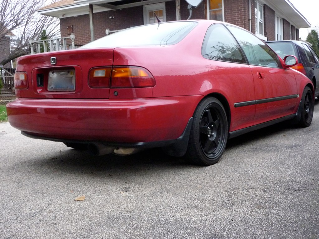 ... 1994 Honda Civic EX Coupe Turbo   8 | By Audiofyl