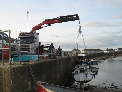 "Pwllheli harbour | by Jim Ricketts Hiab Haulage ""jimmybigcrane"""