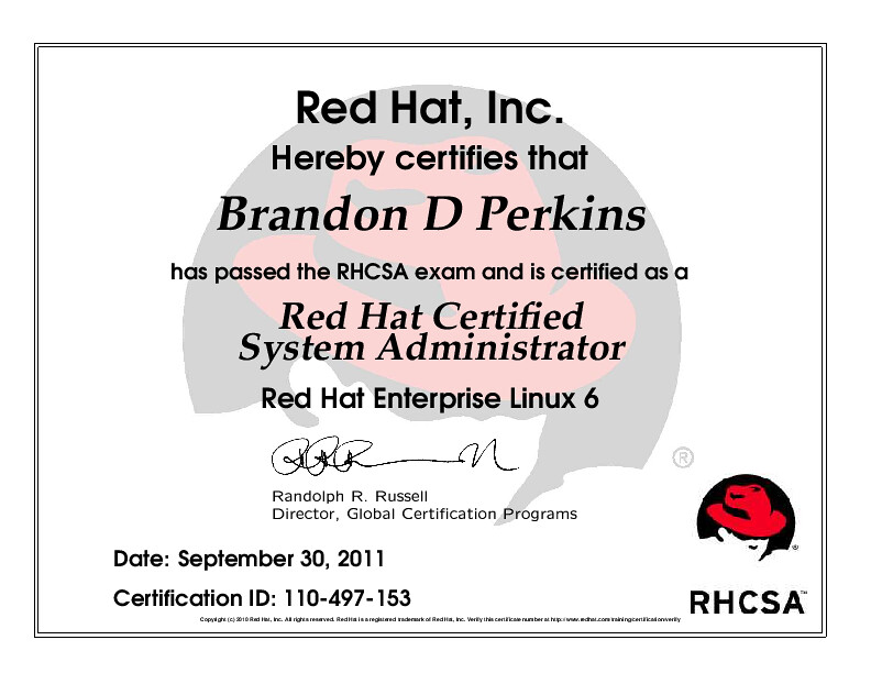 RHEL6 Red Hat Certified System Administrator | Red Hat, Inc.… | Flickr
