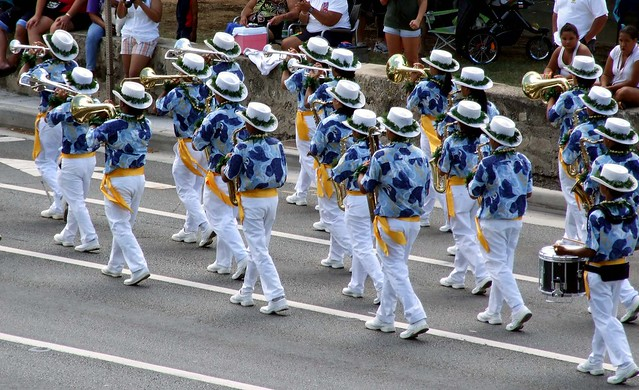 Waipahu High School Band Waipahu Marauder High School