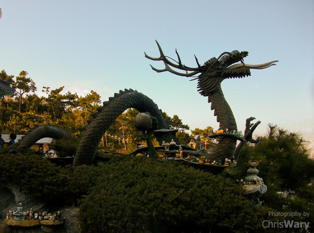 Korean Dragon: Korean Dragon At Yonggungsa