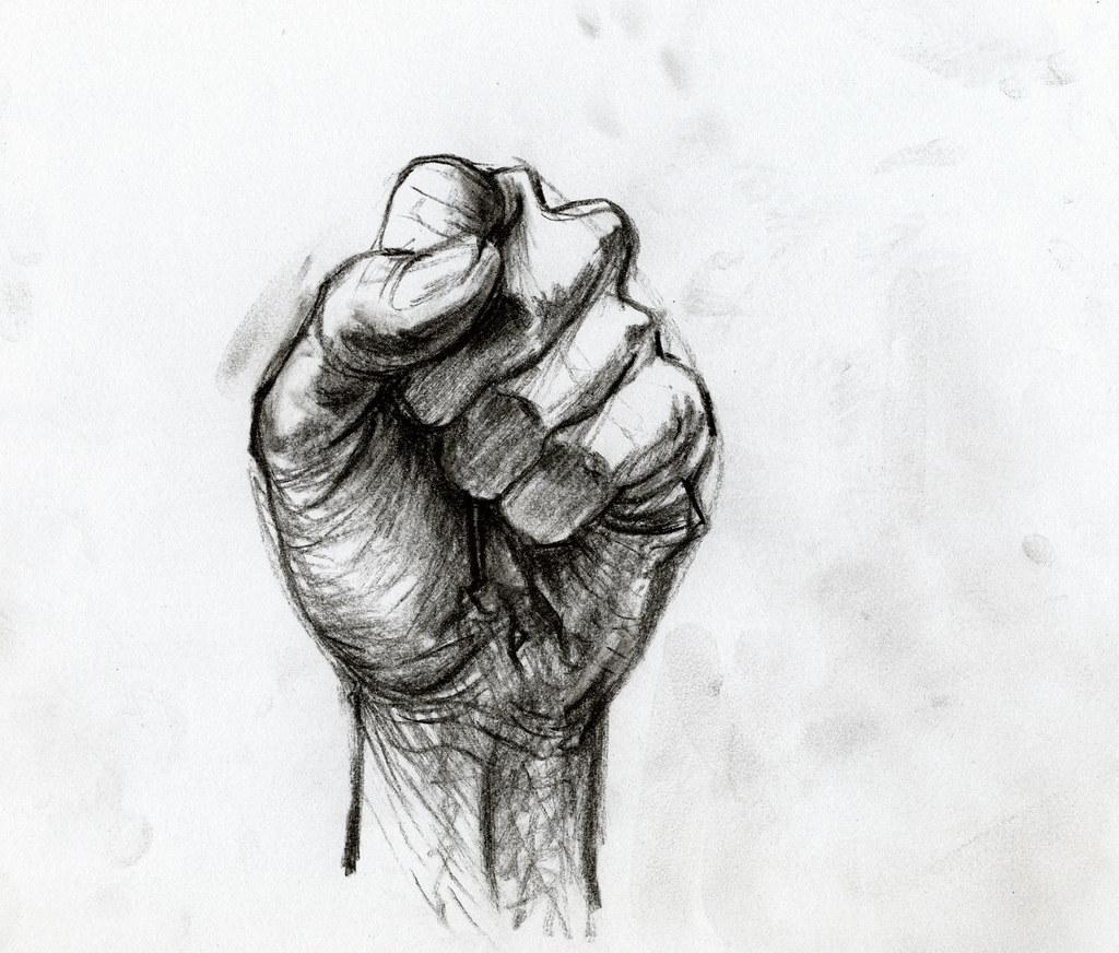 Etude de main 9 hand study dessin rapide au crayon - Main dessin crayon ...