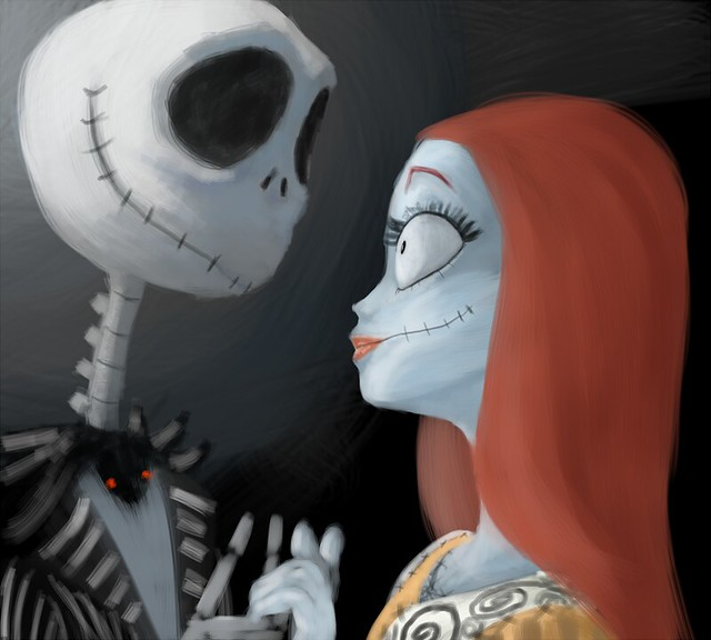 jack and sally painting | Explore monsterhigh | By ...