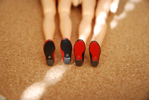 Black & Red Soles | by Girl Least Likely To