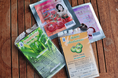 Things I got at the Princess Maha Chakri Sirindhon Herbal Garden gift shop in Thailand | by yougrowgirl