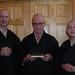 Ordination ceremony: Keizan, Nyozan, & Eishin