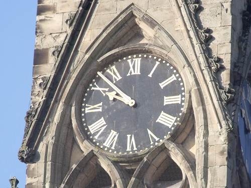 Church of All Saints - Leamington Spa - Spire - clock | by ell brown