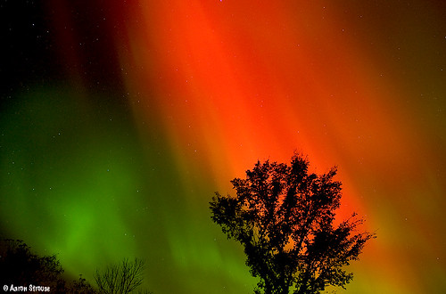 northern lights, clare county MI | by ats8110