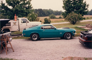 Boss 429 @ the parents' house prior to driving it to Springfield, MO to appear in an open air car show | by dv over dt