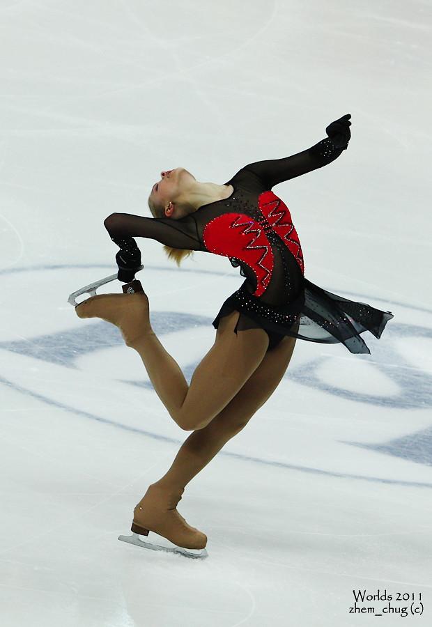 1 - Irina MOVCHAN, UKR   Worlds 2011 Ladies FS   Flickr