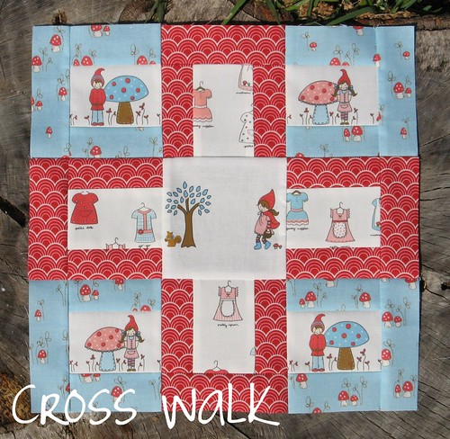 Modern Blocks Book - Cross Walk | by Cut To Pieces