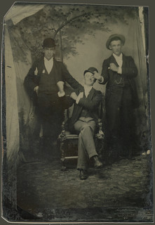 Three Show-off Friends Tintype | by ChrisWarren1956