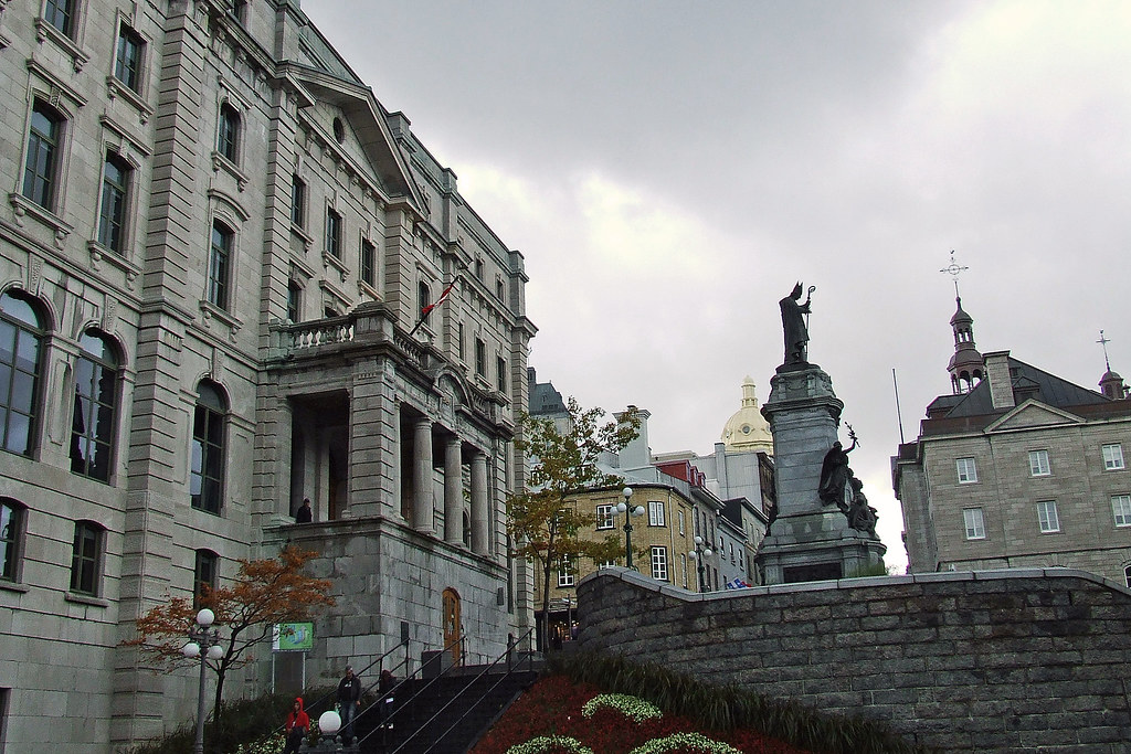 post office and statue of fran 231 ois xavier de montmo flickr