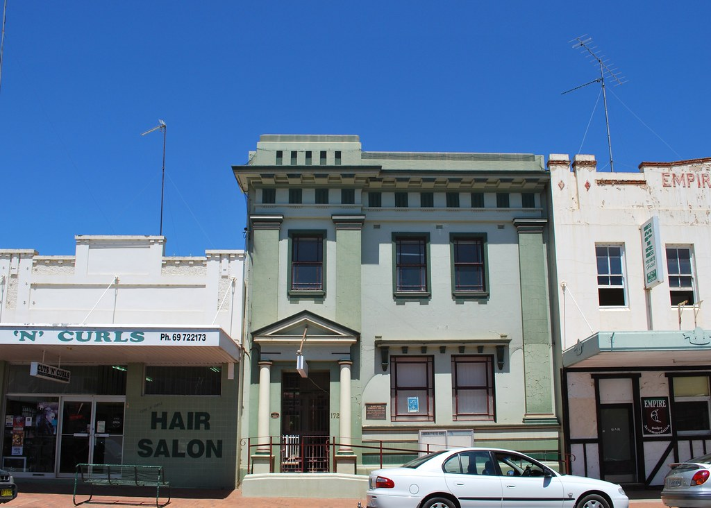 West Wyalong Australia  City new picture : Commercial Bank of Australia, West Wyalong | Matt | Flickr
